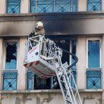 آتش سوزی ساختمان ۵ طبقه در پایتخت