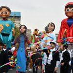غوغای سرخوشانه کودکان پایتخت