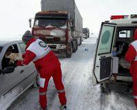 امدادرسانی به حدود ۵ هزار هموطن گرفتار در برف