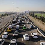 ایجاد مسیر انحرافی در اتوبان تهران – قم