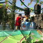 حرکت کاروان شادستان در شمال تهران