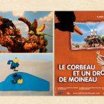 اکران انیمیشنهای کانون در سینماهای فرانسه