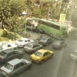 ترافیک سنگین یک میدان به دلیل عملیات عمرانی +پاسخ شهرداری