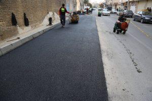 ایمن سازی تقاطع خیابان هدایت در منطقه ۳ تهران