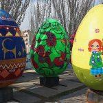 جشنواره تخممرغ های نوروزی در منطقه ۳ تهران