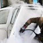 چگونگی فعالیت «اتو واش پسماند» در جنوب تهران